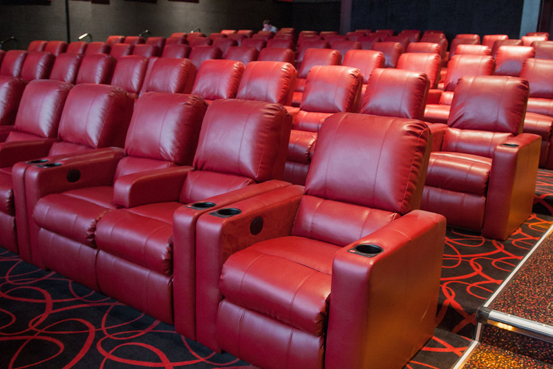 AMC Theater in Penn Square Mall recently remodeled adding new seats and equipments.