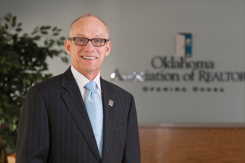 Joe Pryor with the Oklahoma Association of Realtors.
