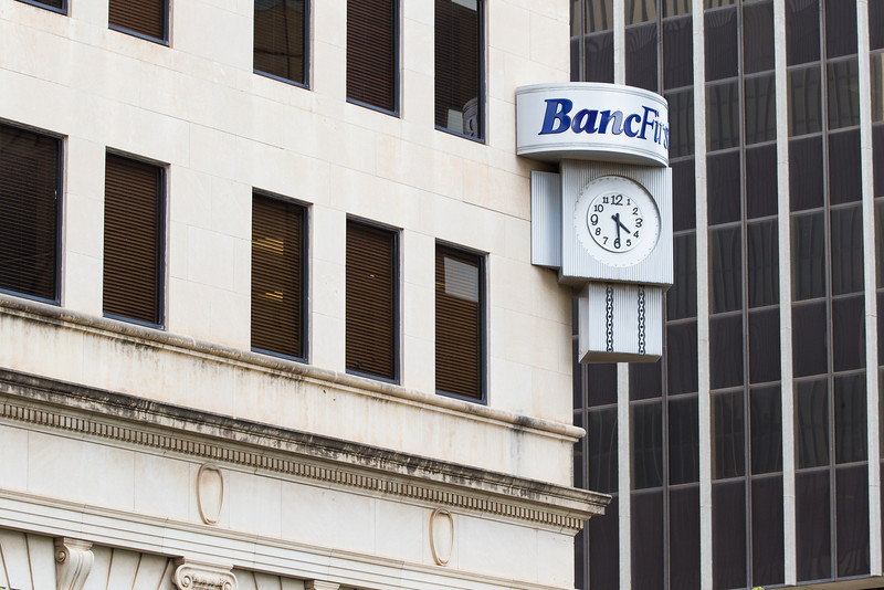 Banc First in downtown Oklahoma CIty, OK.