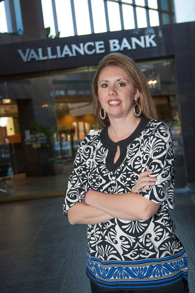 Alicia Wade, Senior Vice President of Valliance Bank in Oklahoma CIty, OK.