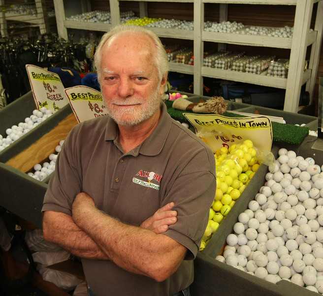 Jack Hill of All Pro Golf Ball Company.