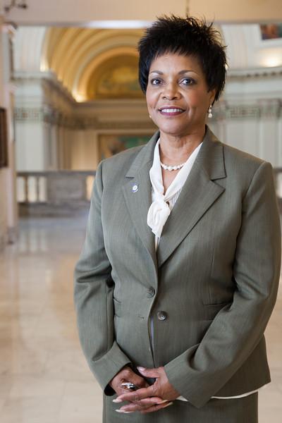 Oklahoma State Senator Constance Johnson (D)