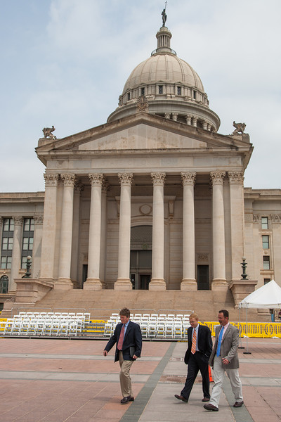 Last day of the 2013 legislative session at the Oklahoma State Capitol.
