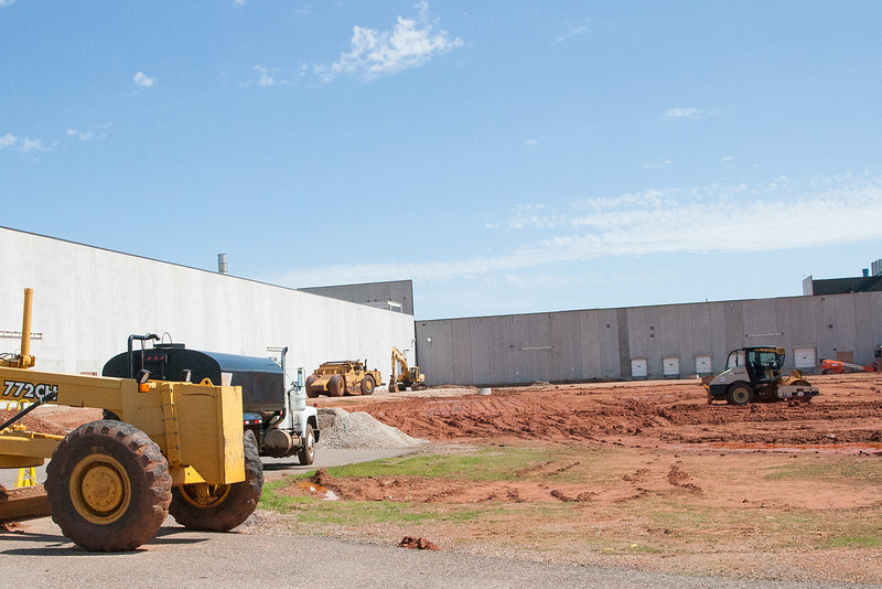 New construction at Quad Graphics in Oklahoma CIty, OK.