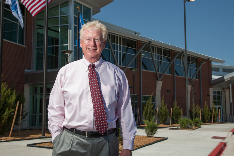 Gary Cox,, director of the Oklahoma City County Health department at their new office at 2600 NE 63rd in Oklahoma City, OK.