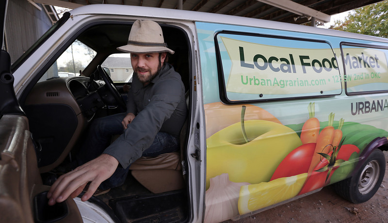 Matt Birch or Urban Agrarian Market.