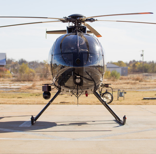 The Oklahoma City Police Department will be replacing it's current helicopters (shown above) with new Eurocopter helicopters.