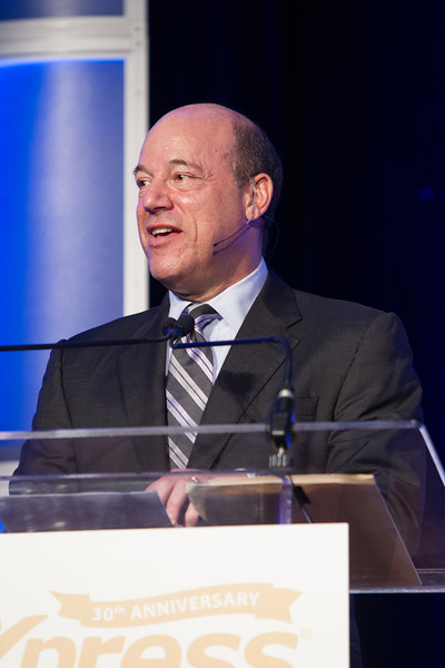 Former White House press secutary Ari Fleischer lead a panal discussion on unemployment and the employment participation rate at the Express Personal 30th Anniversery lunchen.