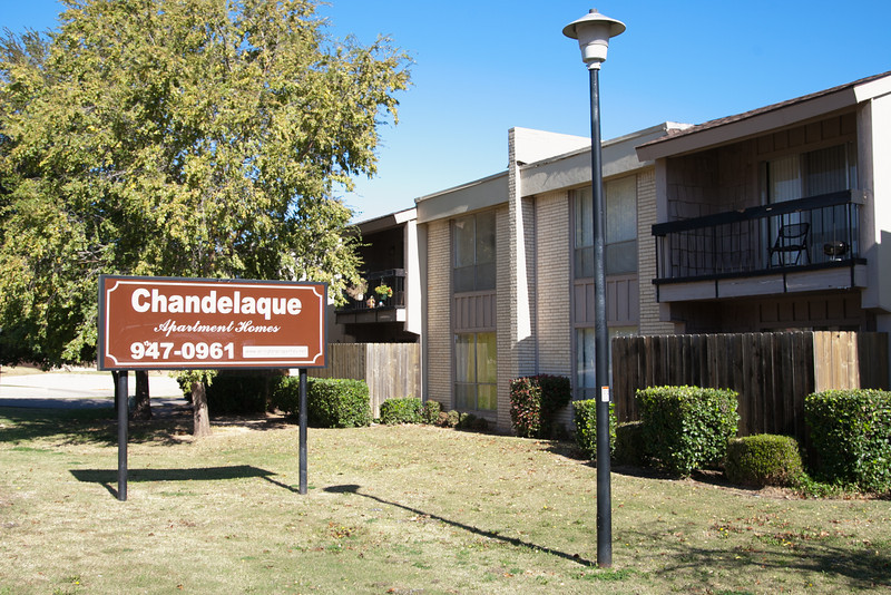 Chandelaque Apartments was sold to a California based company for $7.9 million.