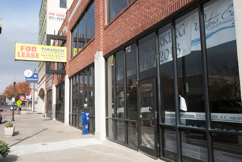 712 N Broadway is the future site of Water's Edge Winery in downtown Oklahoma CIty, OK.