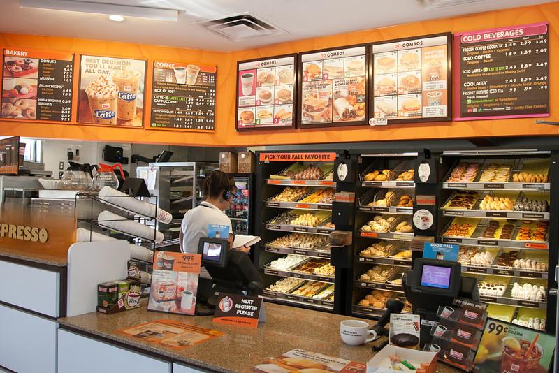 Dunkin Donuts in Edmond, OK.