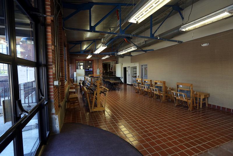 General classroom area of the WaterWorks Art Center in Tulsa.