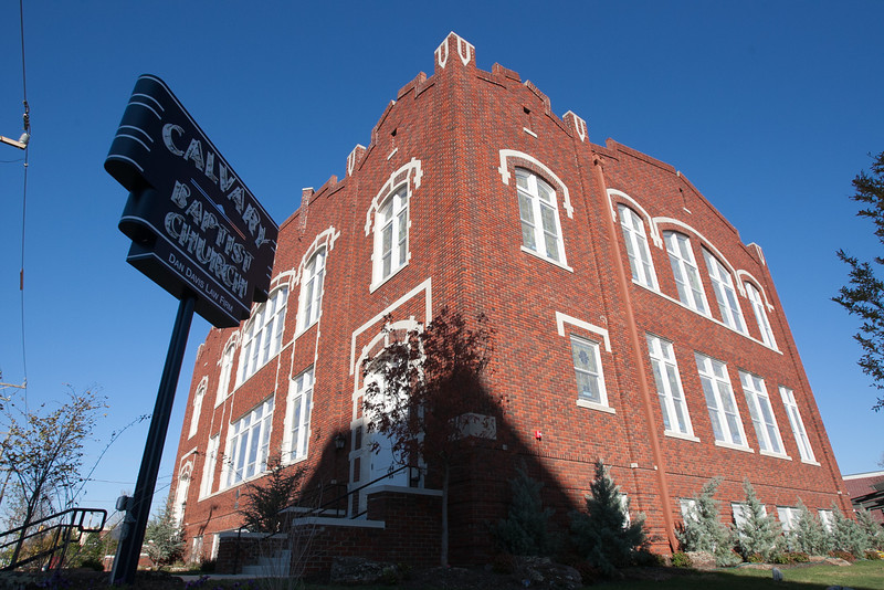 Calvery Baptist Church, in downtown Oklahoma City, OK, is now the home of Dan Davis Law Firm after completeing renovation of the building.