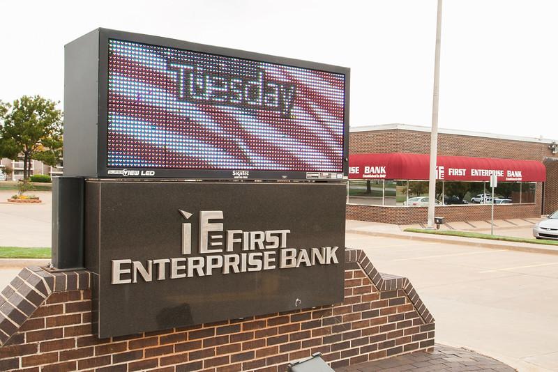 RFirst Enterprise Bank at 3801 NW 122nd in Oklahoma City, OK.
