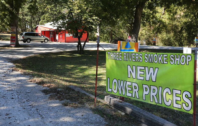 A pair of Tulsa County lawsuits charge Coweta's Janie Fellers with breach of fiduciary duty involving tobacco smoke shops in three cities including the one one at 17822 S. Memorial Drive in Bixby.