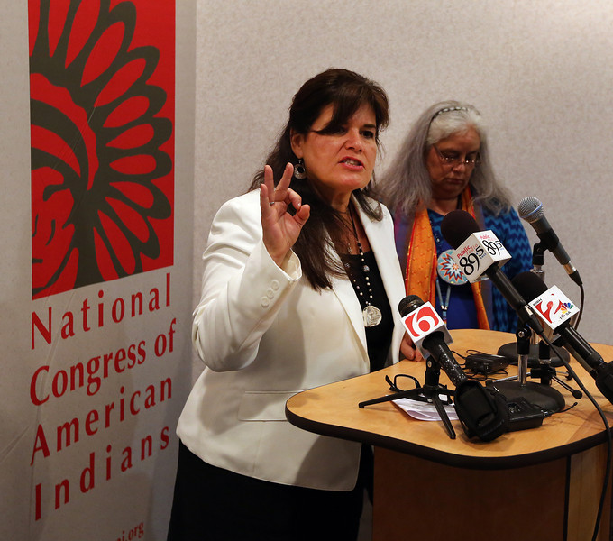 National Congress of American Indians Executive Director Jacqueline Pata.