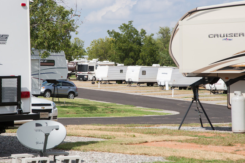 Pecan Grove RV park in Chickasha, OK.