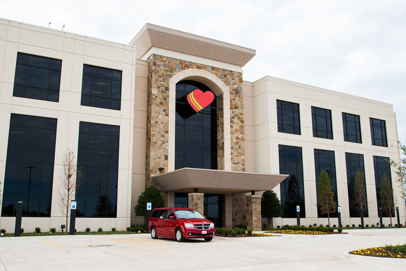 The new headquarters of Love's Country Stores at NW Hefner and Penn in Oklahoma City, OK.