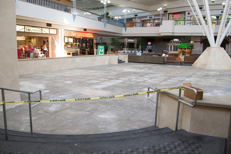 A stage is being planned for MayorPlaza  , formerly Crossroads Mall in Oklhoma City, OK.