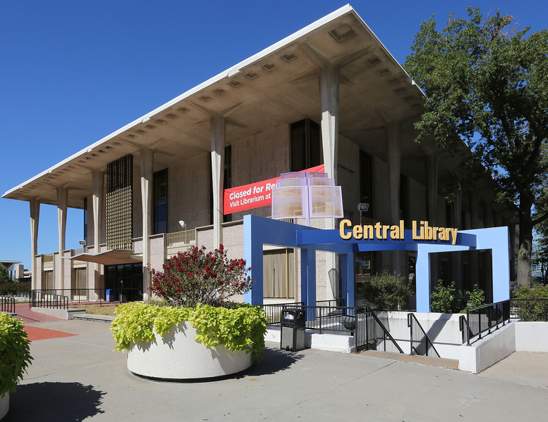 The Tulsa Central Library.