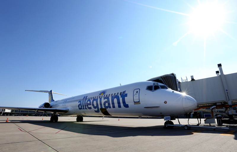 Allegiant Airlines began twice a week service from Tulsa to Orlando Florida Friday.