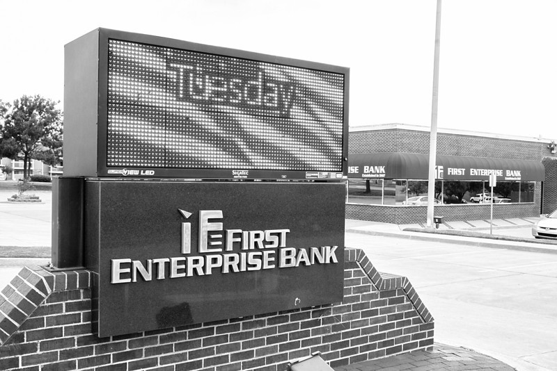 RFirst Enterprise Bank at 3801 NW 122nd in Oklahoma City, OK.