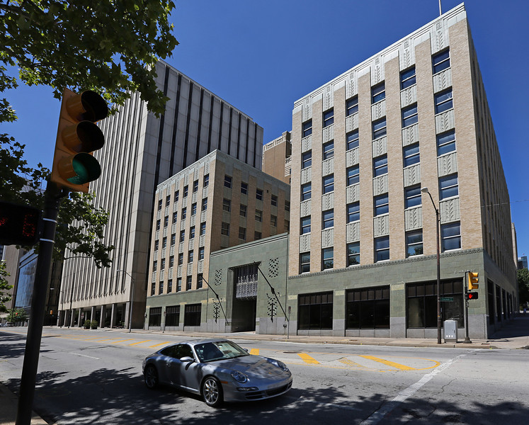 The ARCO Building in downtown Tulsa.<br /> <br /> Tulsa County District Court Judge Dana Lynn Kuehn could decide as early as Wednesday what bond amount she will require of plaintiff Wiggin Properties LLC to anchor a temporary restraining order preventing Tulsa-based Arco Building LLC from selling its namesake six-story office building during this ongoing battle.