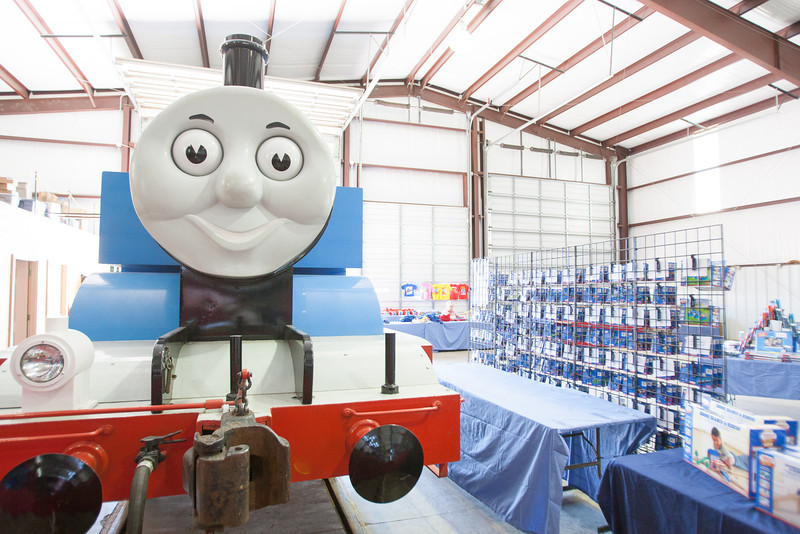 The Oklahoma CIty Railway Museum is preparing for thousands of kid's and their parents to come see Thomas the Tank Engine Sep 27-29.