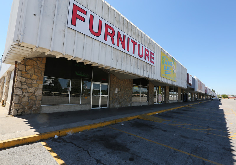 The C.D. Furniture store on Admiral street in Tulsa.