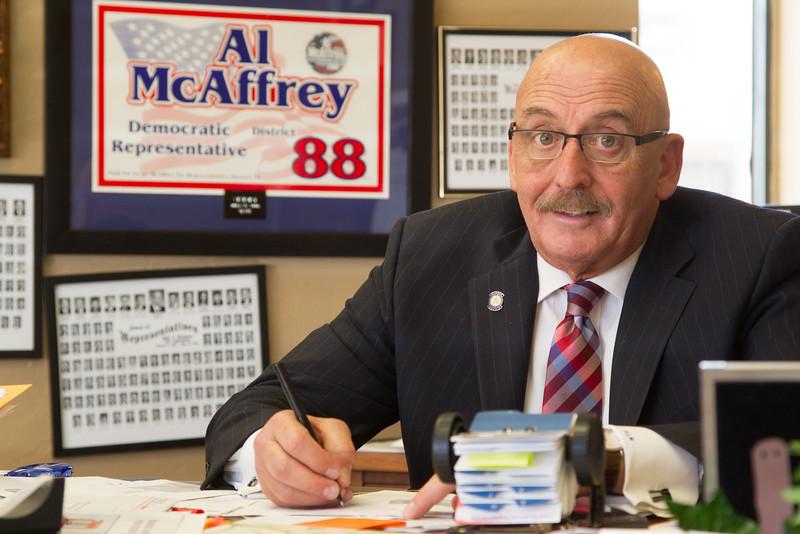 Oklahoma State Senator Al McAffry.