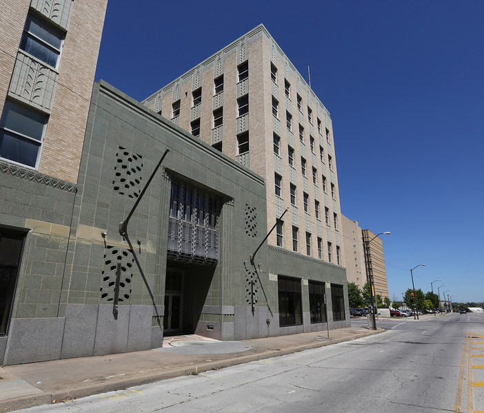 The ARCO Building in downtown Tulsa.