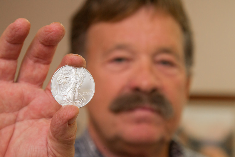 Rod Powers, owner of Oklahoma Coin Gold and Silver in Oklahoma City, OK.