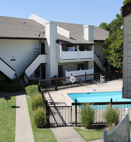 The Tower Crossing Apartments,in Tulsa recently sold for $5.7 Million, 20% less than they sold for 5 years ago.