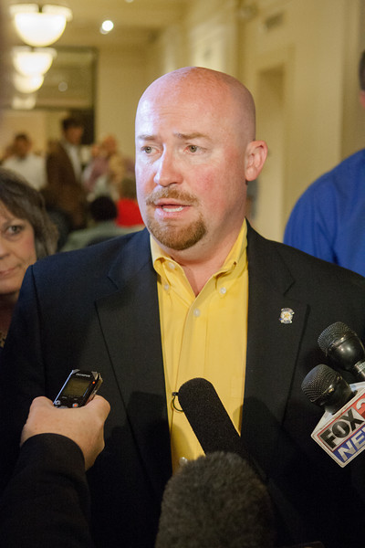After filing to run for governor of Oklahoma, State Representative Joe Doorman talked to members of the press about his reasons to enter the race.