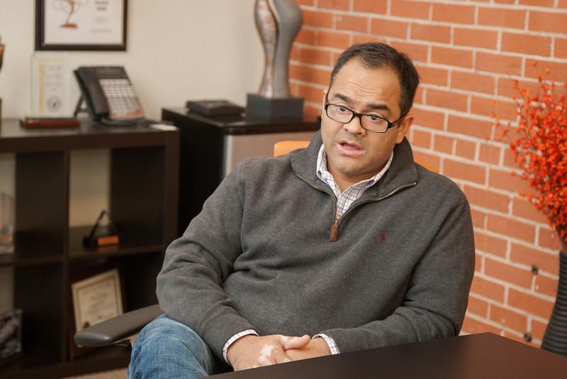 Piyush Patel, owner of Digital Tuters in Oklahoma CIty, OK.