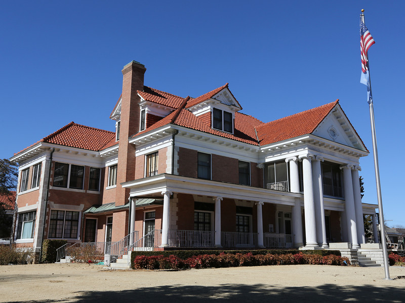 The Phillips Mansion in Bartlesville.