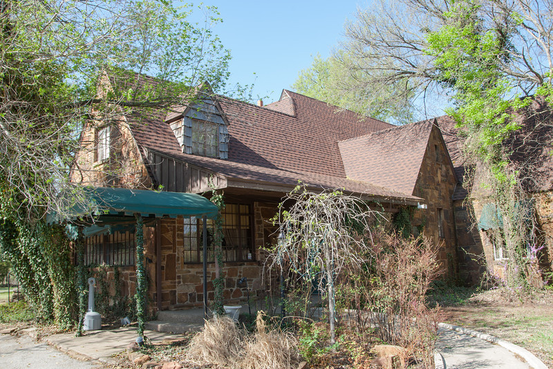 The Haunted House resturaunt in Oklahoma CIty, OK.