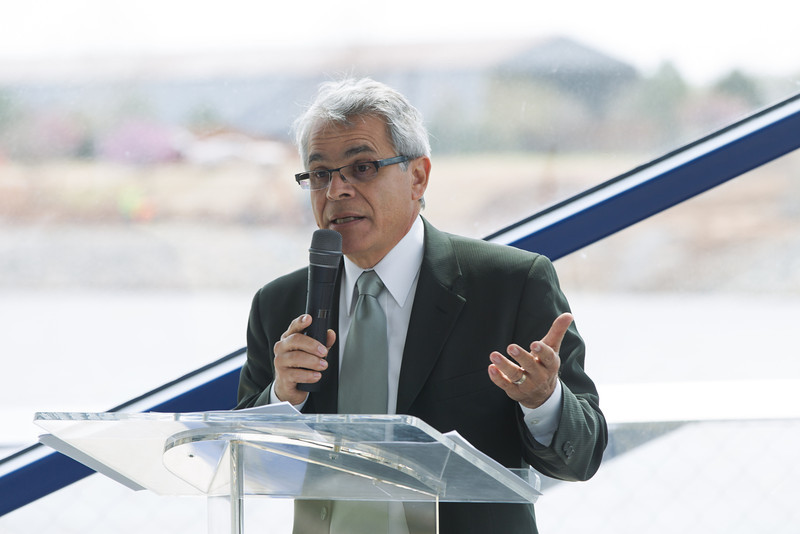 Jose Legaspi, owner of the The Legaspi Company, was the guest speaker at the CREC luncheon.