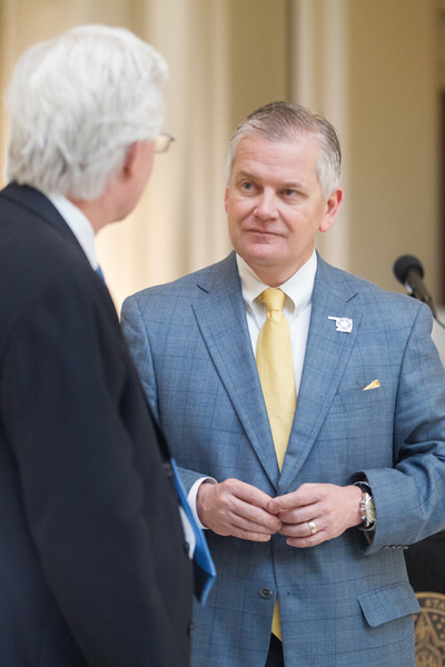 Oklahoma State Insurrance Commisioner John Doak at the state capitol.
