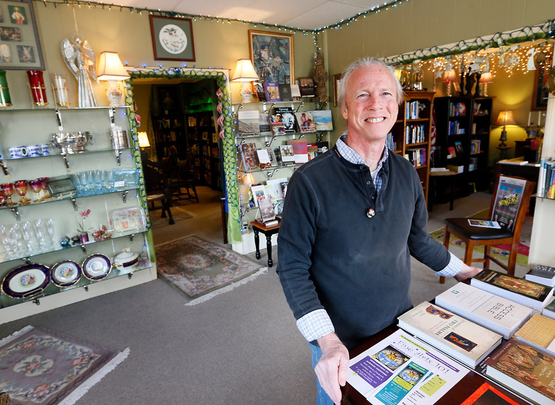 Isaac Porter Owner of Chapel Book and Fine Coolectables Tahlequah.