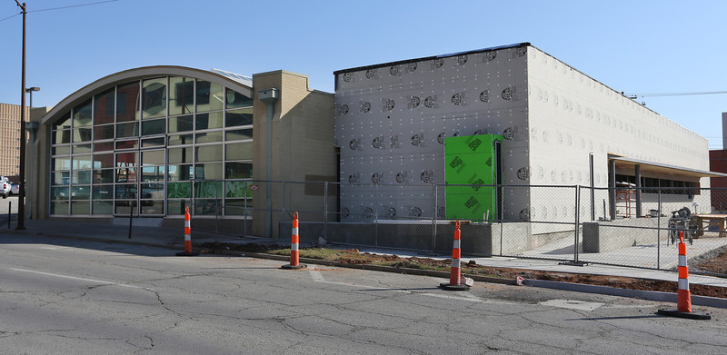 Construction on the Tulsa Community College Nate Waters Physical Therapy Clinic continues.