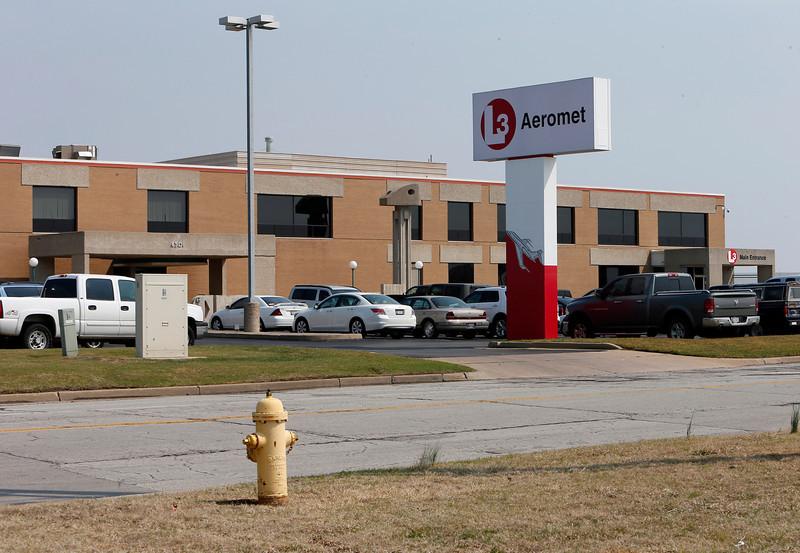 The L3 Aeromet facility at the Tulsa International Airport.