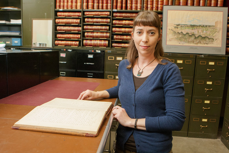 Jennifer Day, archivist for the City of Oklahoma City.