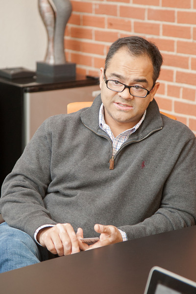 Piyush Patel, owner of Digital Tuters in Oklahoma CIty, OK.