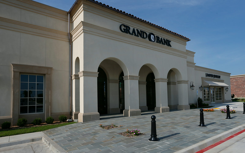 The Grand Bank building in South Tulsa.