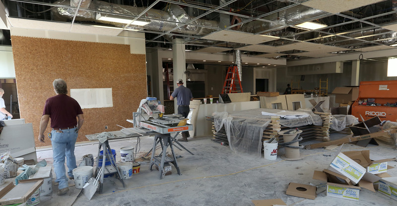 Napa Flats, a new restaurant at under construction at 9912 Riverside Parkway in Tulsa is scheduled to open September 8th.