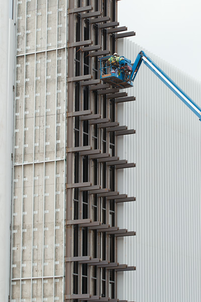 Construction on the Chesapeak campus in Oklahoma CIty, OK.
