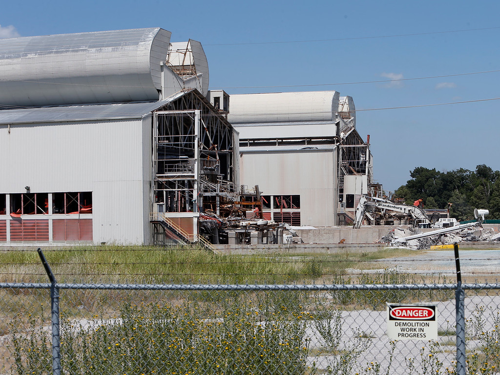 Demolition of a large portion of the 1.4 million square foot Zeledyne Glass Plant  in Broken Arrow is underway and is scheduled to be complete in late 2014.