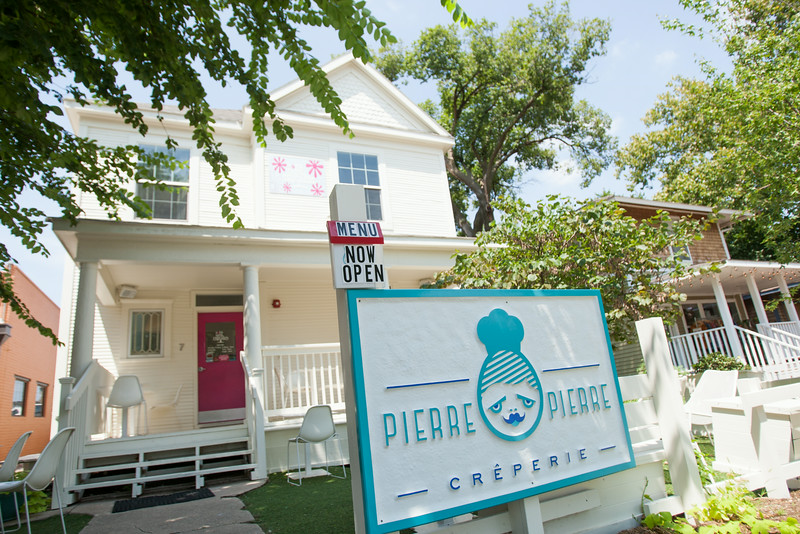 Pierre Pierre is open along side Sara Sara Cupcake at 7 NE 9th in Oklahoma City, OK.
