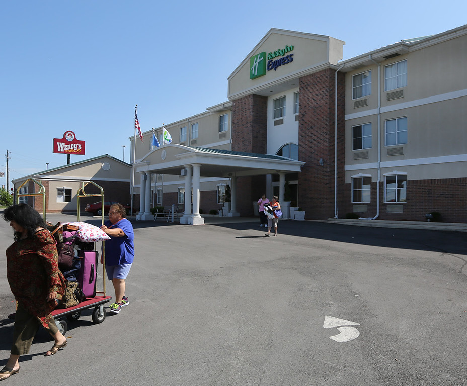 U.S. Bank NA has dropped its $5.3 million Tulsa County District Court foreclosure lawsuit against a pair of hotels owned by Emerald Hospitality including the Hilton Inn Express in Owasso.